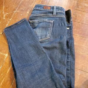 Paige skyline ankle peg jeans size 25